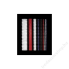 FELLOWES 6 mm műanyag spirál, 10-20 lapig, fehér IFW53300