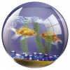 FELLOWES Brite™ kör alakú egéralátét, akvárium
