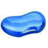 FELLOWES Csuklótámasz, mini, géltöltésű, FELLOWES Crystal Gel, kék
