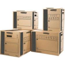 FELLOWES Költöztető doboz, 30x37x30 cm, FELLOWES,  SmoothMove™ Heavy Duty papírárú, csomagoló és tárolóeszköz