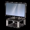 FELLOWES - monitor állvány polccal; grafit