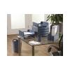 FELLOWES Papírkosár, mûanyag, FELLOWES Green2Desk, kék