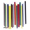 FELLOWES Spirál, mûanyag, 10 mm, 41-55 lap, FELLOWES, 100 db, piros