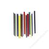 FELLOWES Spirál, műanyag, 10 mm, 41-55 lap, FELLOWES, fehér (IFW53458)