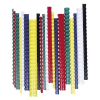 FELLOWES Spirál, műanyag, 12 mm, 56-80 lap, , 100 db, fekete