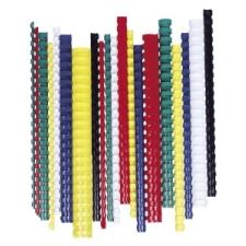 FELLOWES Spirál, műanyag, 28 mm, 201-240 lap, , 50 db, fekete spirálozó gép