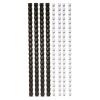 FELLOWES Spirál, műanyag, 6 mm, 10-20 lap, , 25 db, fekete