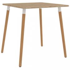 Fém étkezőasztal 80 x 80 x 75 cm bútor
