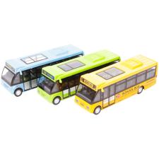 Fém városi busz - 1:146, többféle autópálya és játékautó
