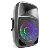 "Fenton FT1200A aktív hangfal, 250W, 12"", MP3, bluetooth, USB, SD, AUX, LED, LCD"