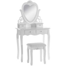 Fésülködő asztal London, fehér bútor