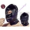Fetish fekete fejmaszk - variálható