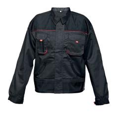 FF BE-01-002 kabát fekete/piros 62