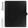 """FILOFAX Kalendárium, gyűrűs, betétlapokkal, A5 méret, FILOFAX, """"Nappa"""", fekete"""