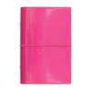 """FILOFAX Kalendárium, gyűrűs, betétlapokkal, personal méret,  """"Domino Lakk"""", pink"""