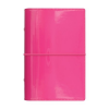 """FILOFAX """"Domino Lakk"""" pocket méretű, gyűrűs kalendárium betétlapokkal, pink"""