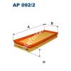 Filtron AP092/2 Filtron levegőszűrő
