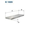 Filtron K1009 Filtron pollenszűrő