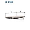 Filtron K1108 Filtron pollenszűrő