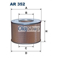 Filtron Légszűrő (AR 352) levegőszűrő