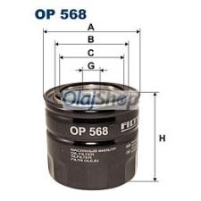 Filtron Olajszűrő (OP 568) olajszűrő