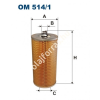 Filtron OM514/1 Filron olajszűrő
