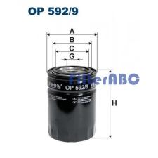 Filtron OP 592/9 olajszűrő olajszűrő