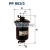 Filtron Üzemanyagszűrő (PP 863/3)