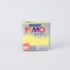 FIMO Fimo effect süthető gyurma áttetsző sárga 57g - FETY104