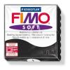"""FIMO Gyurma, 56 g, égethető, FIMO """"Soft"""", fekete"""