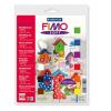 """FIMO Gyurma készlet, 9x25 g, égethető,  """"Soft Basic"""", vegyes színek"""