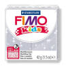 FIMO Kids Gyurma, 42 g, égetheto, glitteres ezüst