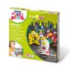 FIMO Kids süthető gyurma készlet, Form & Play - 4x42 g - szörnyek