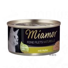 Finnern Feine Filets Naturelle 6 x 80 g - Tonhalas garnélarákkal macskaeledel