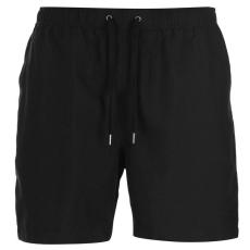 Firetrap férfi fürdőnadrág - Firetrap Swim Shorts Mens Black