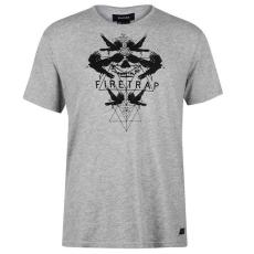 Firetrap férfi póló - Firetrap Graphic T Shirt Mens Geo Bird