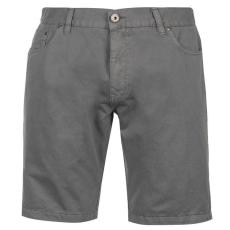 Firetrap férfi rövidnadrág - Firetrap Chino Shorts Mens Grey
