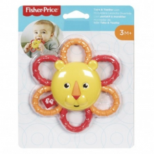 Fisher-Price Fisher Price Szafaris csörgő/rágóka - Oroszlán rágóka