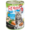 FitActive; Panzi FitActive CAT 415g konzerv meat-mix 415g