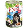 FitActive; Panzi FitActive DOG 1240g konzerv sertés-hal 1.24kg