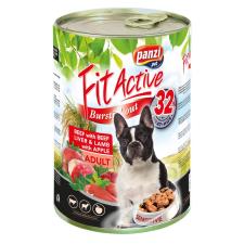 FitActive; Panzi Panzi FitActive Adult Dog Konzerv marhával, májjal és bárányhússal 415gr kutyafelszerelés