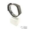 Fitbit Charge 3 cserélhető lyukacsos szilikon szíj - fekete - black