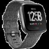 Fitbit Versa Special Edition Black okosóra (FB505BKGY-EU)