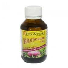 Fitovital Máriatövismag olaj 100 ml vitamin és táplálékkiegészítő