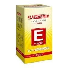 Flavitamin E 100 db kapszula, 10mg E-vitamin, flavonoidokkal - Flavin7 vitamin és táplálékkiegészítő