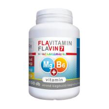 Flavitamin Magnézium + B6-vitamin 100 db kapszula - Flavin7 vitamin és táplálékkiegészítő