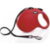 Flexi Classic szalagpóráz - L, 50 kg-ig, 5 m, piros
