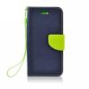 Flexi color book tok - Apple iPhone 6 Plus - 5.5 - sötétkék - lime