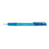 """FLEXOFFICE Golyóstoll, 0,4 mm, nyomógombos, FLEXOFFICE \""""EasyGrip\"""", kék [12 db]"""