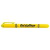 FLEXOFFICE Szövegkiemelő, 1,0/4,0 mm, kétvégű, FLEXOFFICE HL01, sárga (FOHL01S)